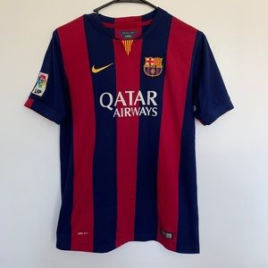 2014 home barcelona jersey youth nike